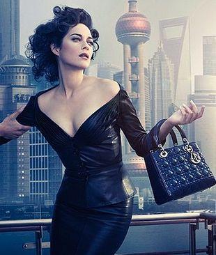 Cotillard i Dior  zdobywają Szanghaj