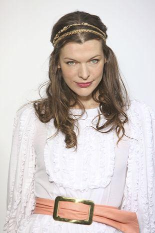 Milla Jovovich w swoim stylu