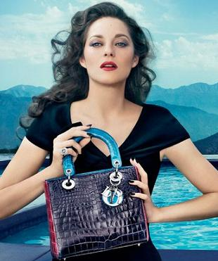 Marion Cotillard po raz kolejny dla Diora