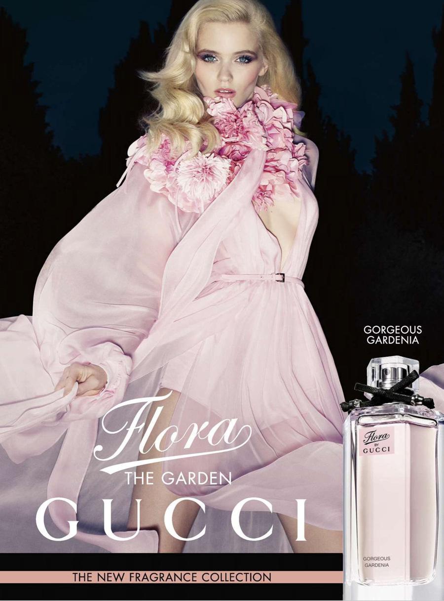 Abbey Lee Kershaw dla Flora by Gucci
