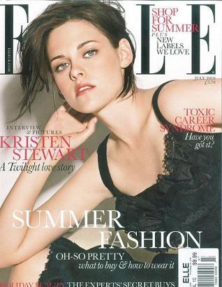 Kristen Stewart na okładce brytyjskiego Elle
