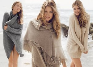 Doutzen Kroes dla Repeat Cashmere