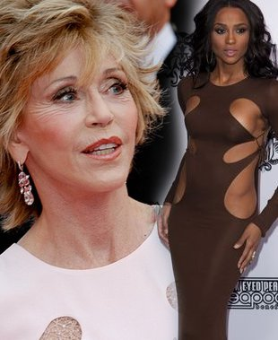 Jane Fonda vs Ciara (FOTO)