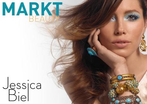 Jessica Biel reklamuje interaktywny blog Marka Townsenda
