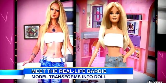 Żywa Barbie – Valeria Lukyanova