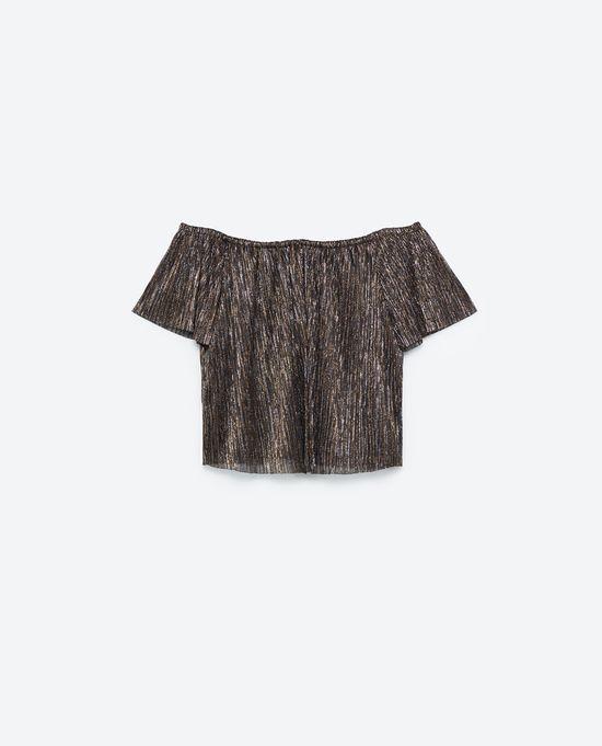 Zara Satin Sheen - Połyskujące akcenty w kolekcji na jesień 2016