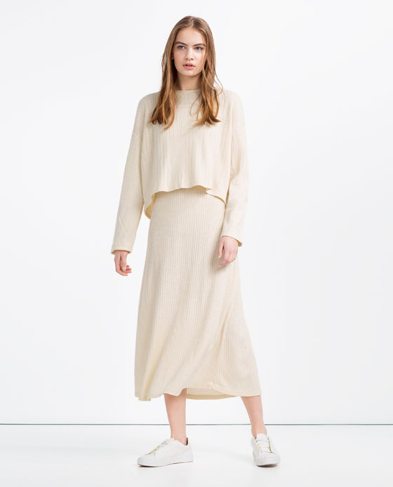 Wyprzedaż Zara - 10 modnych sukienek maksi lato 2016 (FOTO)