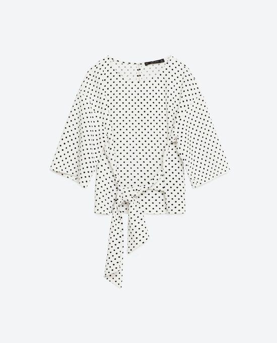 Zara Dots & Spots - Kropki i grochy w kolekcji na jesień 2016