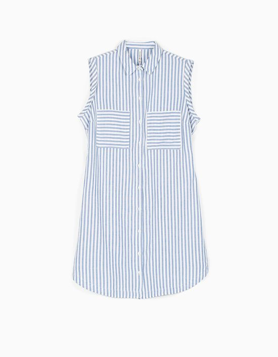 Stradivarius Stripes - Biało-niebieskie ubrania w paski na lato 2016