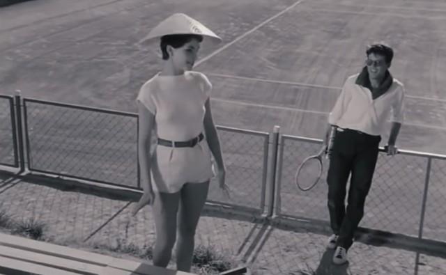 Śliczna Teresa Tuszyńska pokazuje modę lat 50. i 60.
