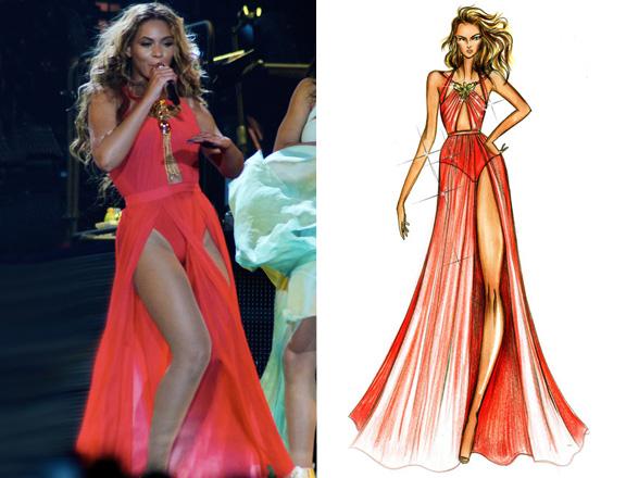Sceniczne kreacje Beyonce