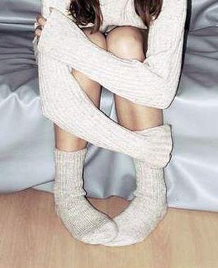 Skarpetki pielęgnujące stopy?