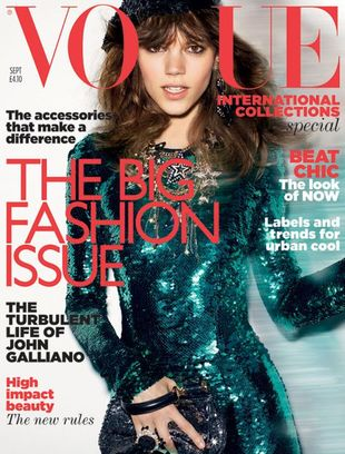 Freja Beha Erichsen dla Vogue UK (FOTO)