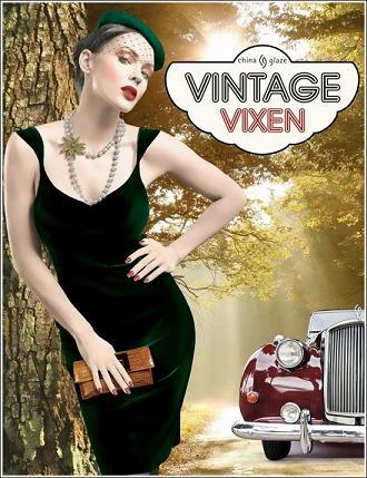 Kolekcja lakierów Vintage Vixen od China Glaze