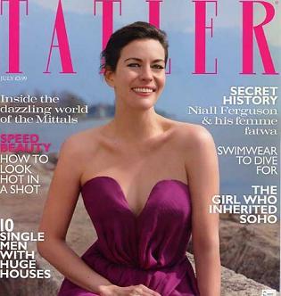 Liv Tyler na okładce magazynu Tatler