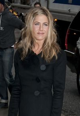 Jennifer Aniston u Davida Lettermana