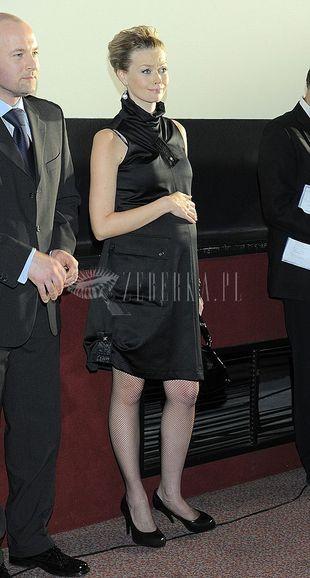 Tamara Arciuch modna w ciąży