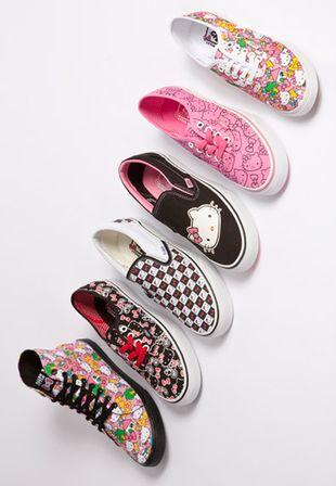 Kolekcja Hello Kitty x VANS (FOTO)