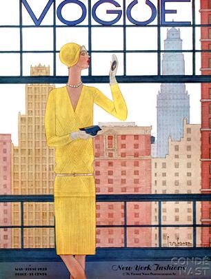 Okładki Vogue z początków XX wieku