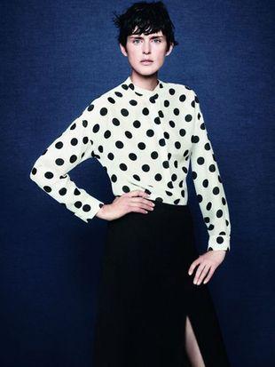Stella Tennant ponownie w kampanii Zary (FOTO)