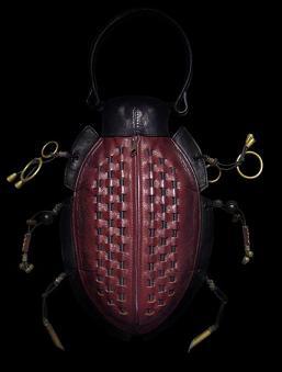 Torebki inspirowane owadami (i nie tylko)