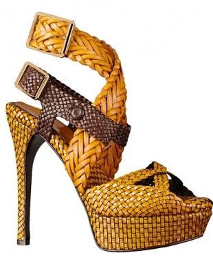 Burberry Prorsum - buty z kolekcji wiosna/lato 2012