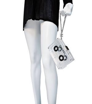 Torebka w kształcie kasety od Chanel