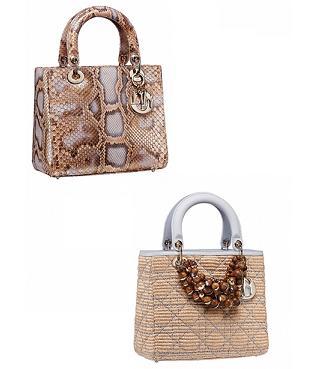 Dior - torebki z kolekcji Resort 2012