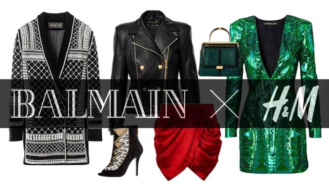 Balmain dla H&M - kompletna kolekcja i ceny