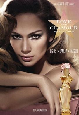 Jennifer Lopez reklamuje swoje nowe perfumy