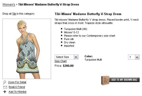 Sukienka Nicky Hilton
