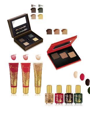 Świąteczny makijaż według Yves Rocher