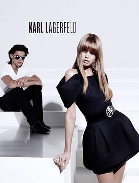 Baptiste Giabiconi znów w obiektywie Karla Lagerfelda
