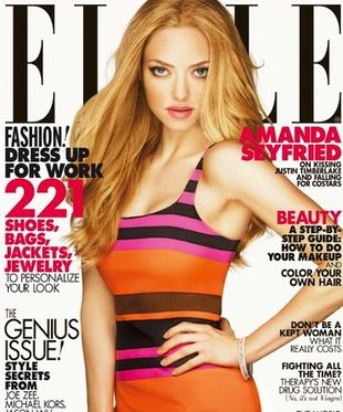Amanda Seyfried na okładce Elle