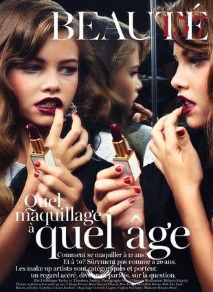 10-letnia modelka wywołała burzę w mediach