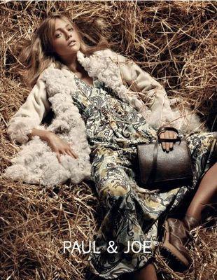 Sasha Pivovarova w kampanii marki Paul & Joe