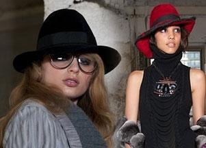 Okulary i kapelusze u Malandrino - jesień 2011