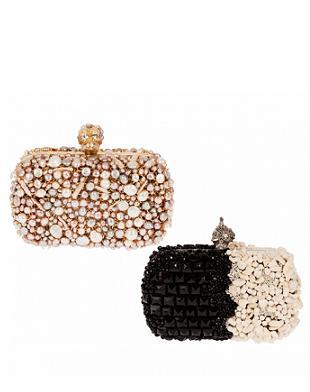 Alexander McQueen - torebki z kolekcji wiosna/lato 2012