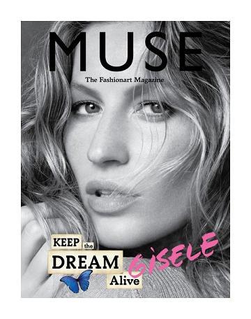 Gisele Bundchen na okładce letniego wydania magazynu Muse