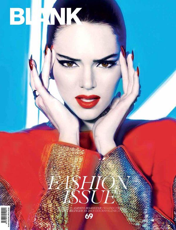 Kendall Jenner na okładkach magazynów