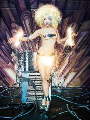 LaChapelle ponownie fotografuje Gagę