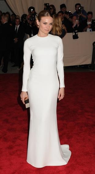 Diane Kruger w kreacji Calvina Kleina