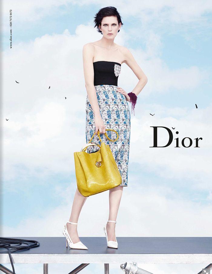 Zapowiedzi wiosenno-letnich kampanii wielkich domów mody