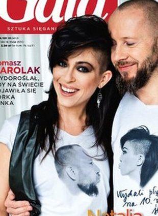 Natalia Kukulska na okładce Gali