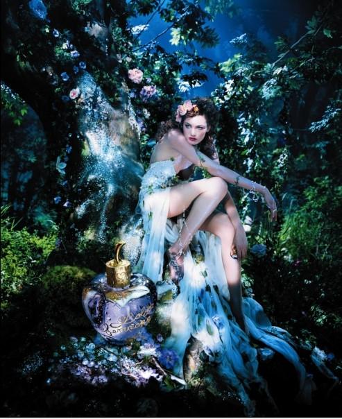 Rajskie kampanie reklamowe perfum Lolity Lempickiej
