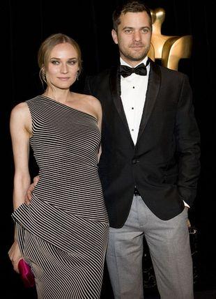 Diane Kruger wybiera asymetrię i paski