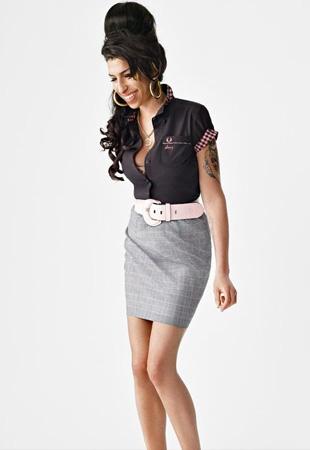 Fred Perry zdecydował się wypuścić kolekcję Amy Winehouse