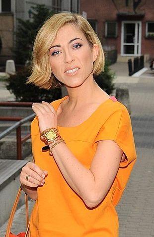 Pomarańczowa sukienka Natalii Kukulskiej (FOTO)