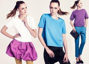 Frida Gustavsson w lookbooku H&M