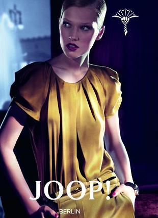 Toni Garrn w kampanii marki Joop! Berlin